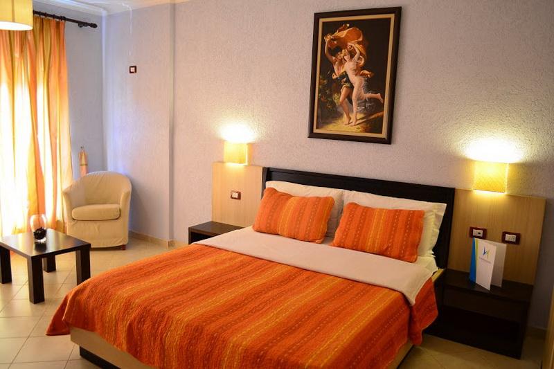 HLetovanje Albanija autobusom, Drač Hotel Ibiza,soba