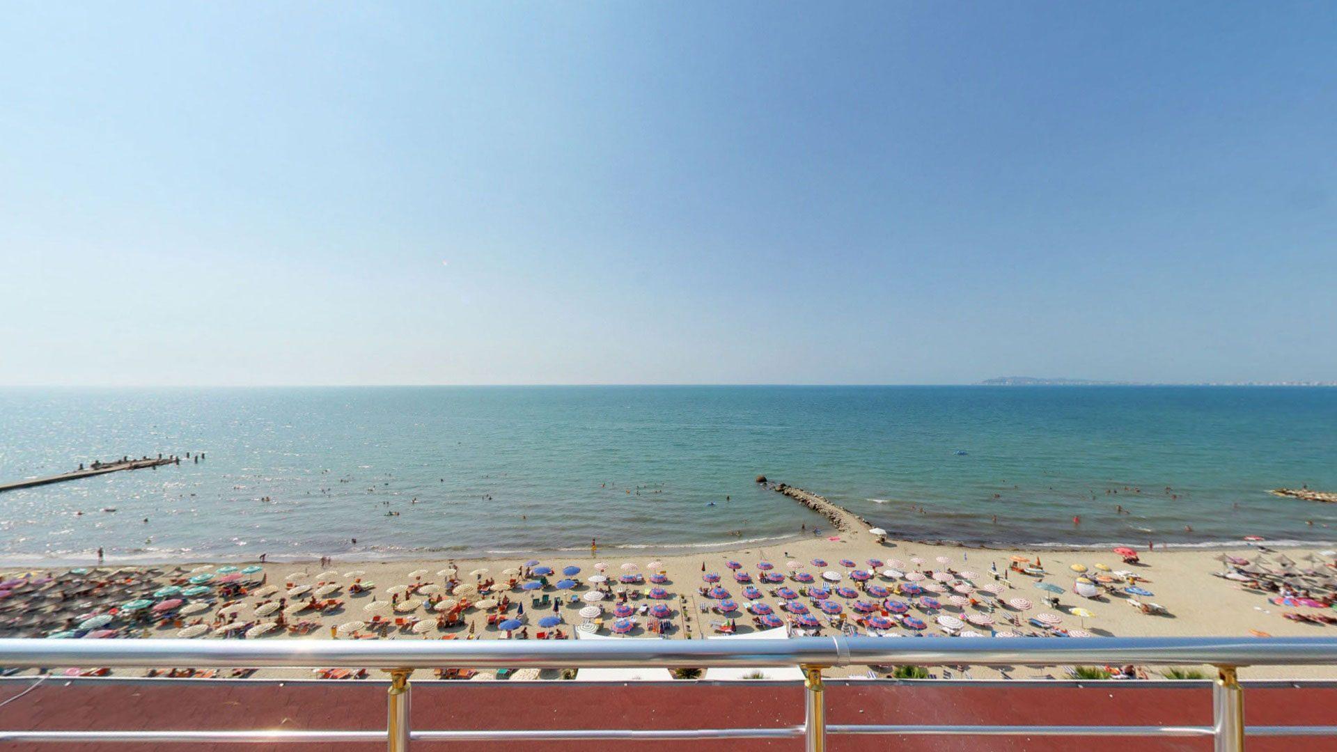 Letovanje Albanija autobusom, Drač, Hotel Mel Holiday, pogled sa terase