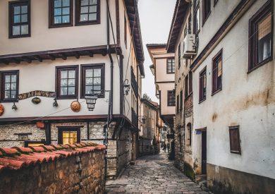 Putovanje Ohrid, uske ulice starog grada