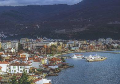 Putovanje Ohrid, pogled sa tvrdjave