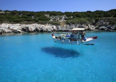 Evija apartmani, letovanje Pefki Grcka, kristalno čisto egejsko more