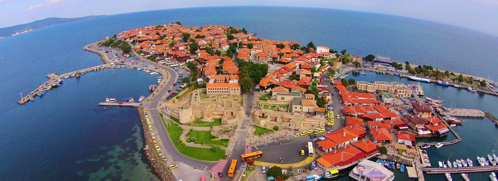 Nesebar, letovanje, leto Bugarska, stari grad