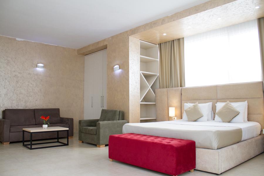 Letovanje Albanija autobusom, Drač Hotel Horizont,soba izgled