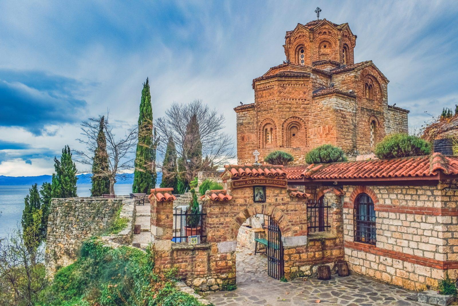 Put u Ohrid, crkva sv. Jovana