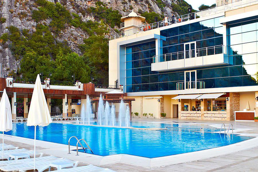 Letovanje Turska autobusom, Kusadasi, Hotel Adakule, hotelski bazen
