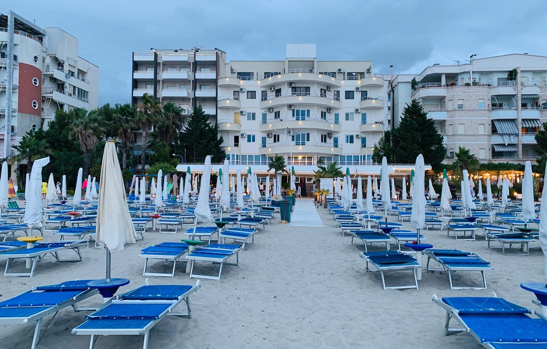 Letovanje Albanija autobusom, Drač, Hotel Elba,eksterijer