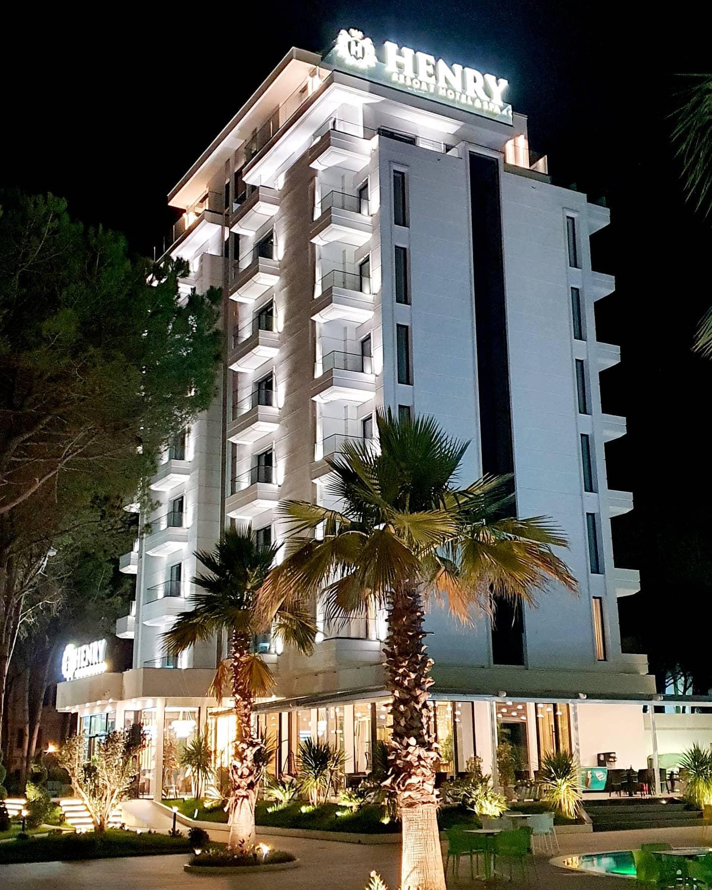 Letovanje Albanija autobusom, Drač, Hotel Henry Resort&Spa,eskterijer