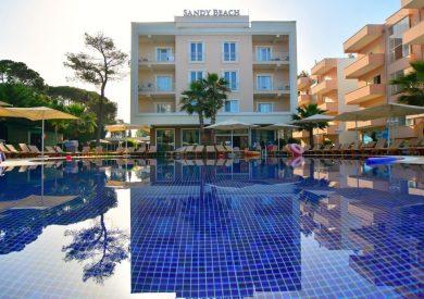 Letovanje Albanija autobusom, Drač, Hotel Sandy Beach resort, eksterijer