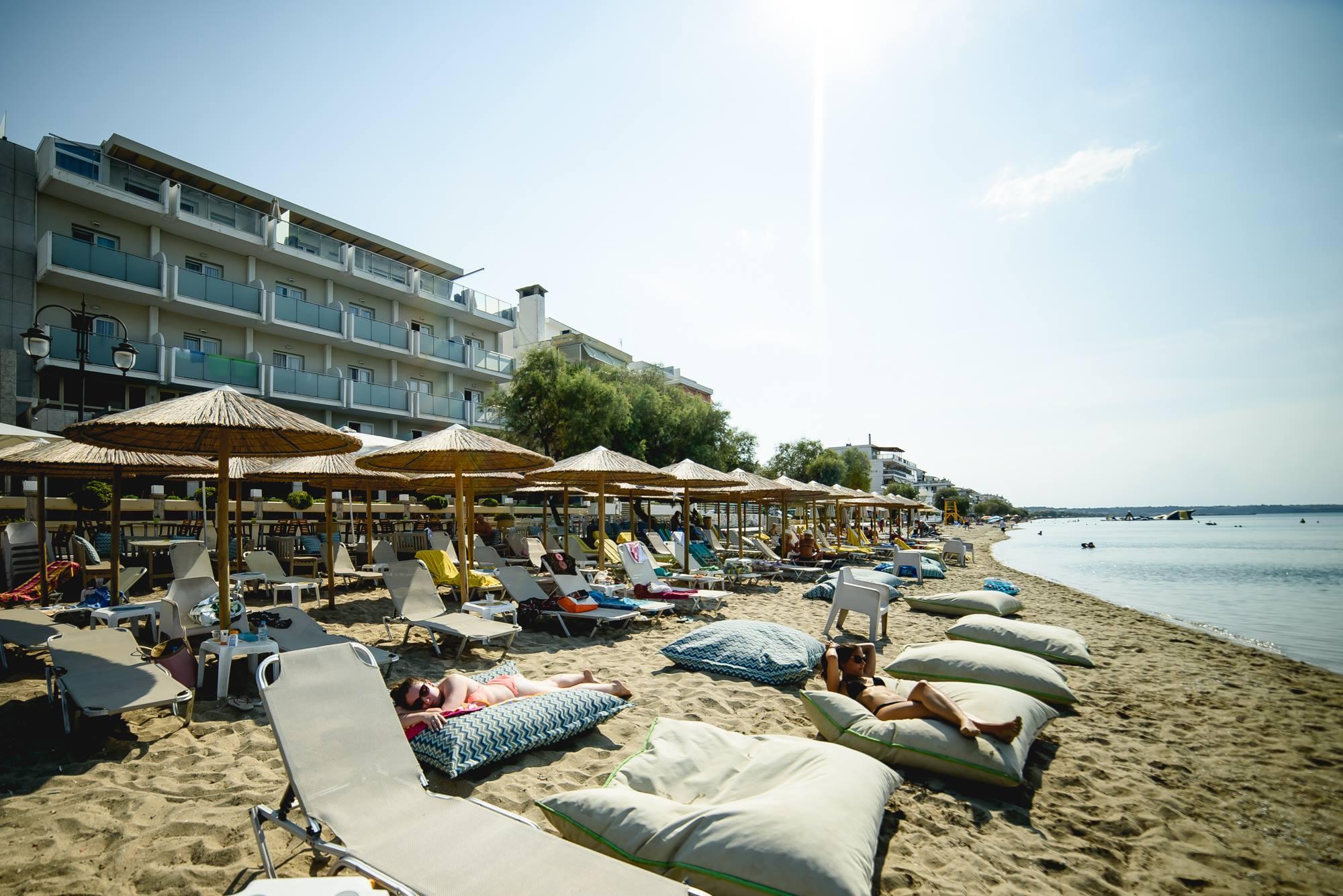 Grcka hoteli letovanje, Perea, Golden Star,eksterijer