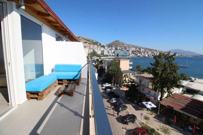 Letovanje Albanija autobusom, Saranda, hotel Kristina suites,pogled sa terase