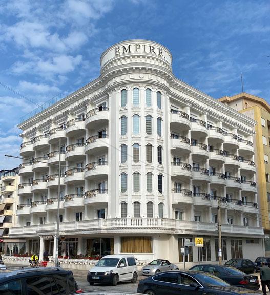 Letovanje Albanija autobusom, Drač, Hotel Empire, spolja