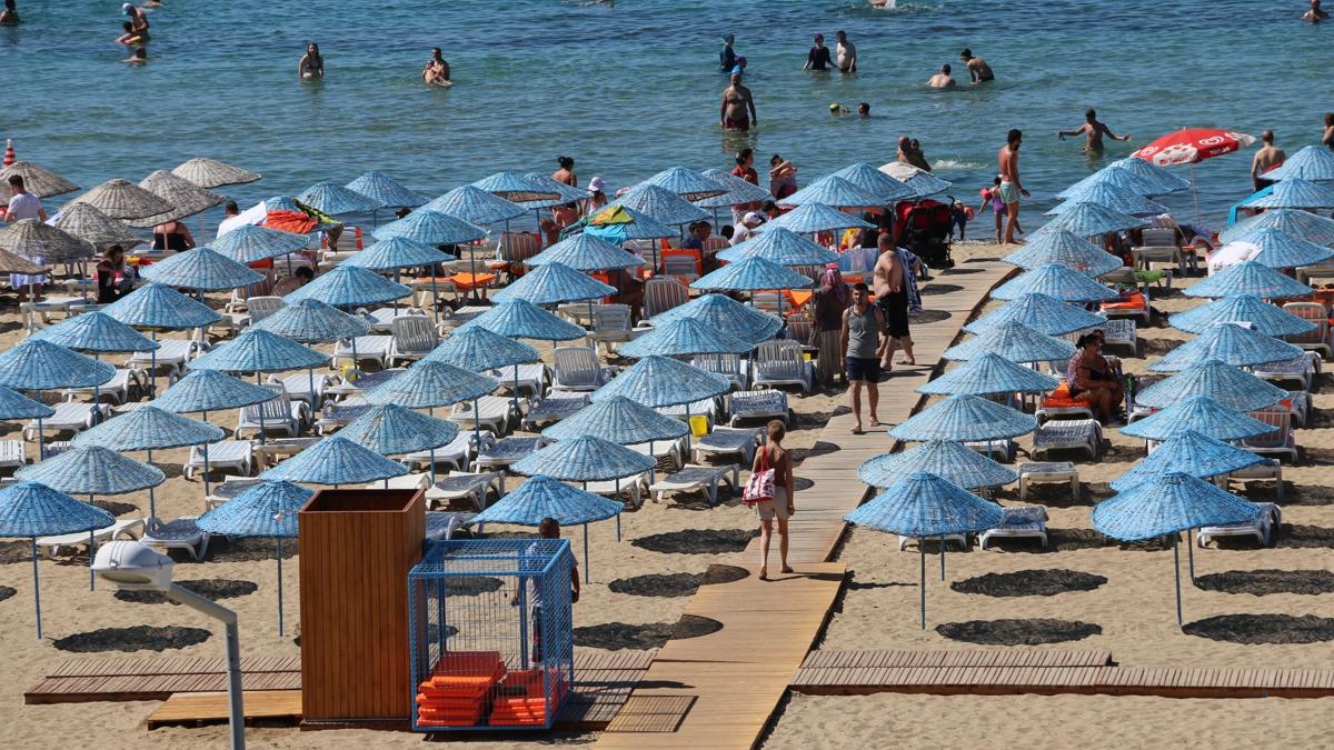 Letovanje Turska autobusom, Sarimsakli, Hotel Olivera,plaža
