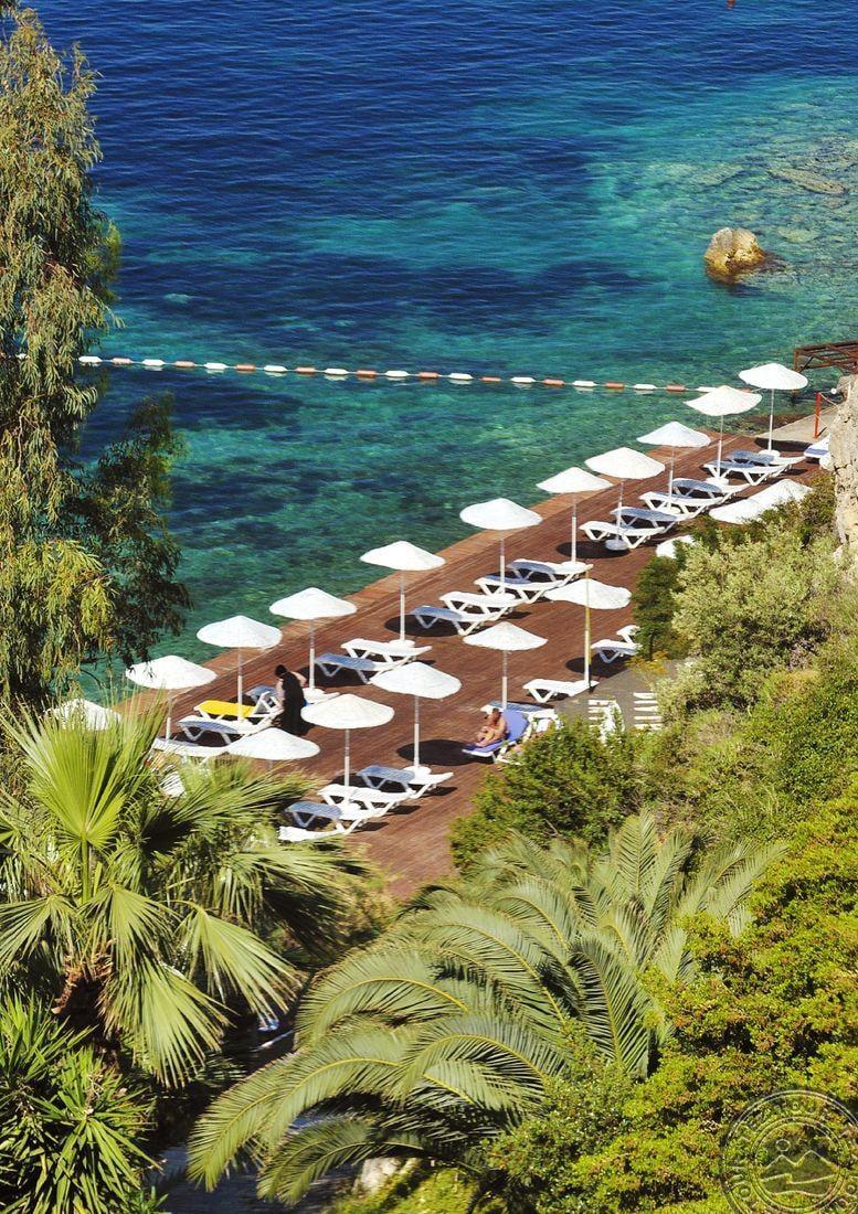 Letovanje Turska autobusom, Kusadasi, Hotel Adakule,deo hotelske plaže