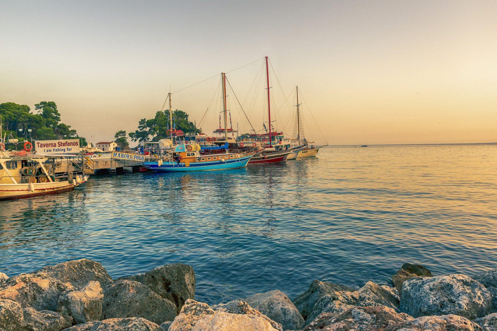 Letovanje Grčka apartmani, Parga, plaža