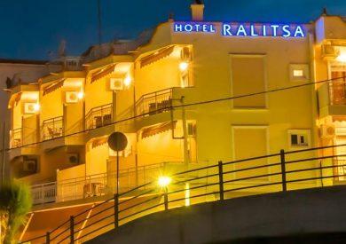 Grcka hoteli letovanje, Tasos, Limennaria,hotel Ralitsa,eksterijer