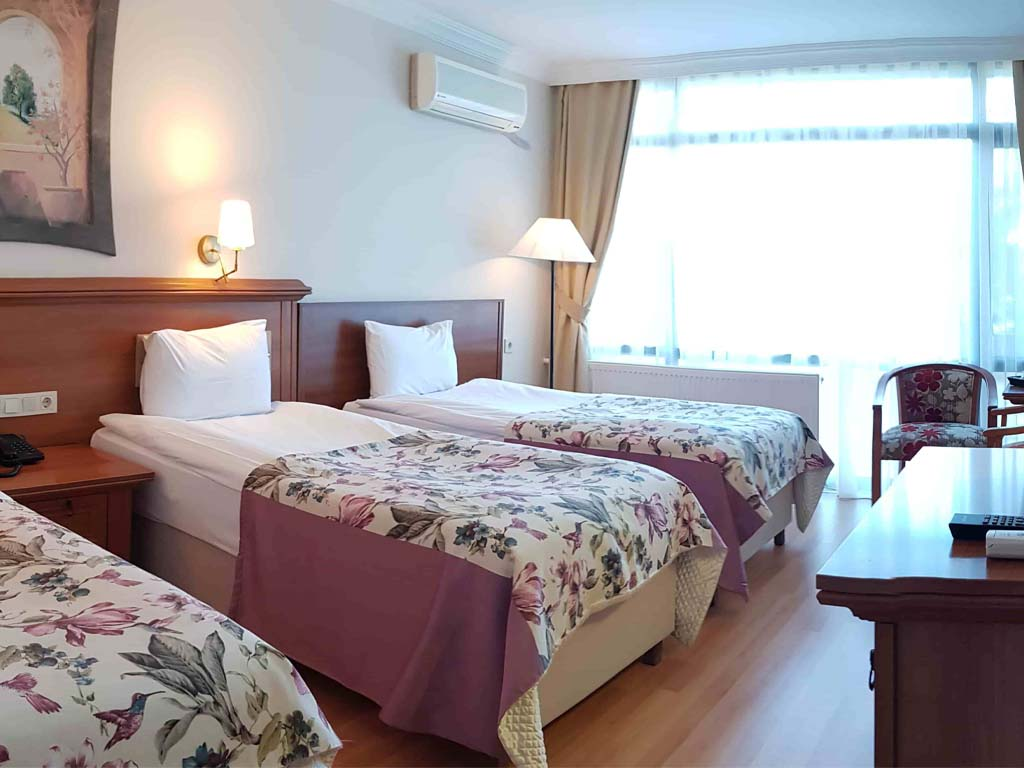 Letovanje Turska autobusom, Čanakkale, Hotel Troja Tusan,hotelska soba