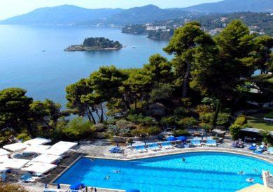 Grcka hoteli letovanje, Krf, ,Kanoni, Corfu Holiday Palace,panorama