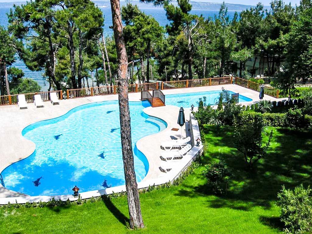Letovanje Turska autobusom, Čanakkale, Hotel Troja Tusan,pogled