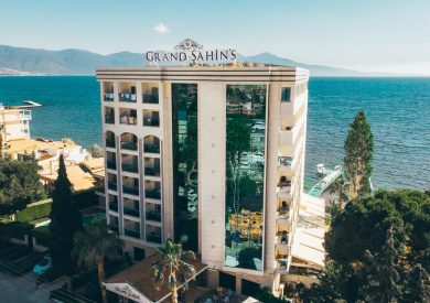 Letovanje Turska autobusom, Kusadasi, Hotel Grand Sahins,eksterijer