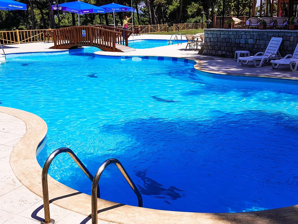 Letovanje Turska autobusom, Čanakkale, Hotel Troja Tusan,bazen
