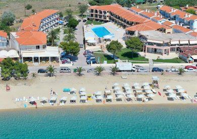 Grcka hoteli letovanje, Halkidiki, Toroni, Hotel Toroni Blue Sea,eksterijer