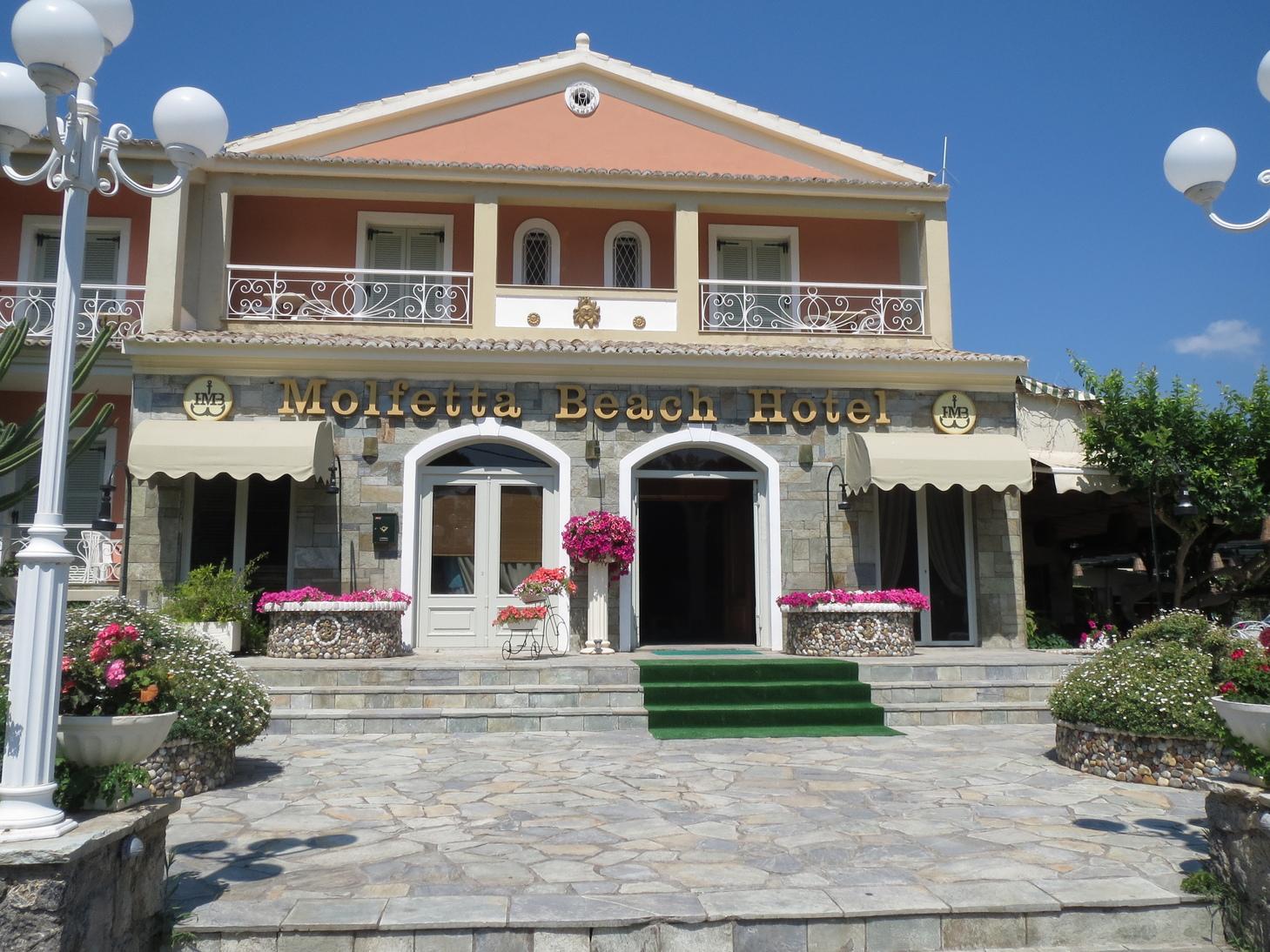 Grcka hoteli letovanje, Krf, Guvia, Molfetta  Beach, eksterijer