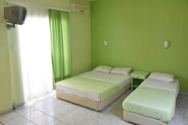 Grcka hoteli letovanje, Paralija, Erato,  spavaća soba