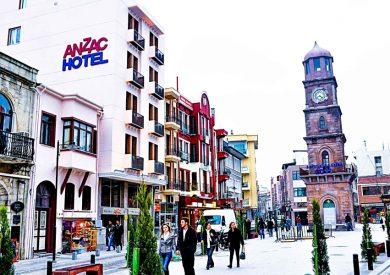 Letovanje Turska autobusom, Čanakkale, Hotel Anzac,eksterijer