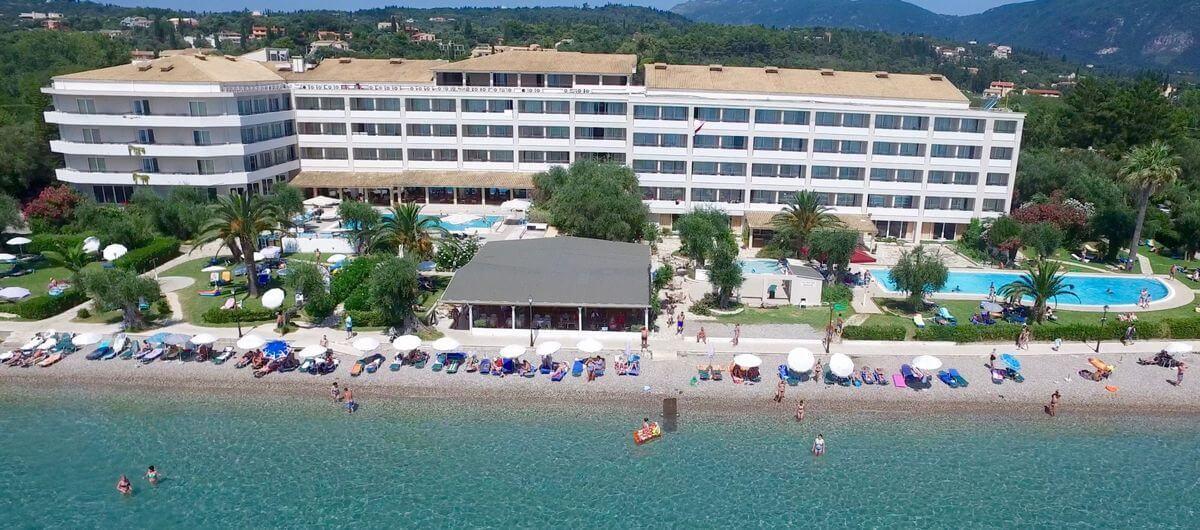 Grcka hoteli letovanje, Krf, Dasia,Hotel Elea Beach,eksterijer
