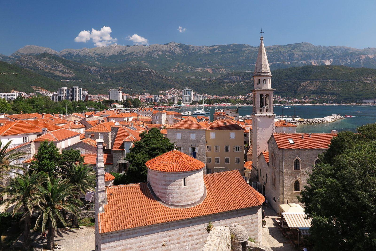 Crna Gora evropski gradovi, Budva