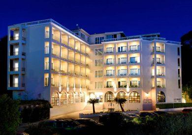Grcka hoteli letovanje, Krf, ,Kanoni, hotel Royal Grand Hotel eksterijer