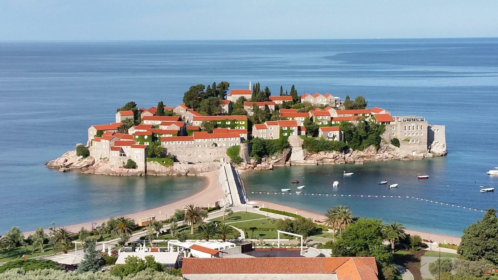 Crna Gora evropski gradovi, Sveti Stefan
