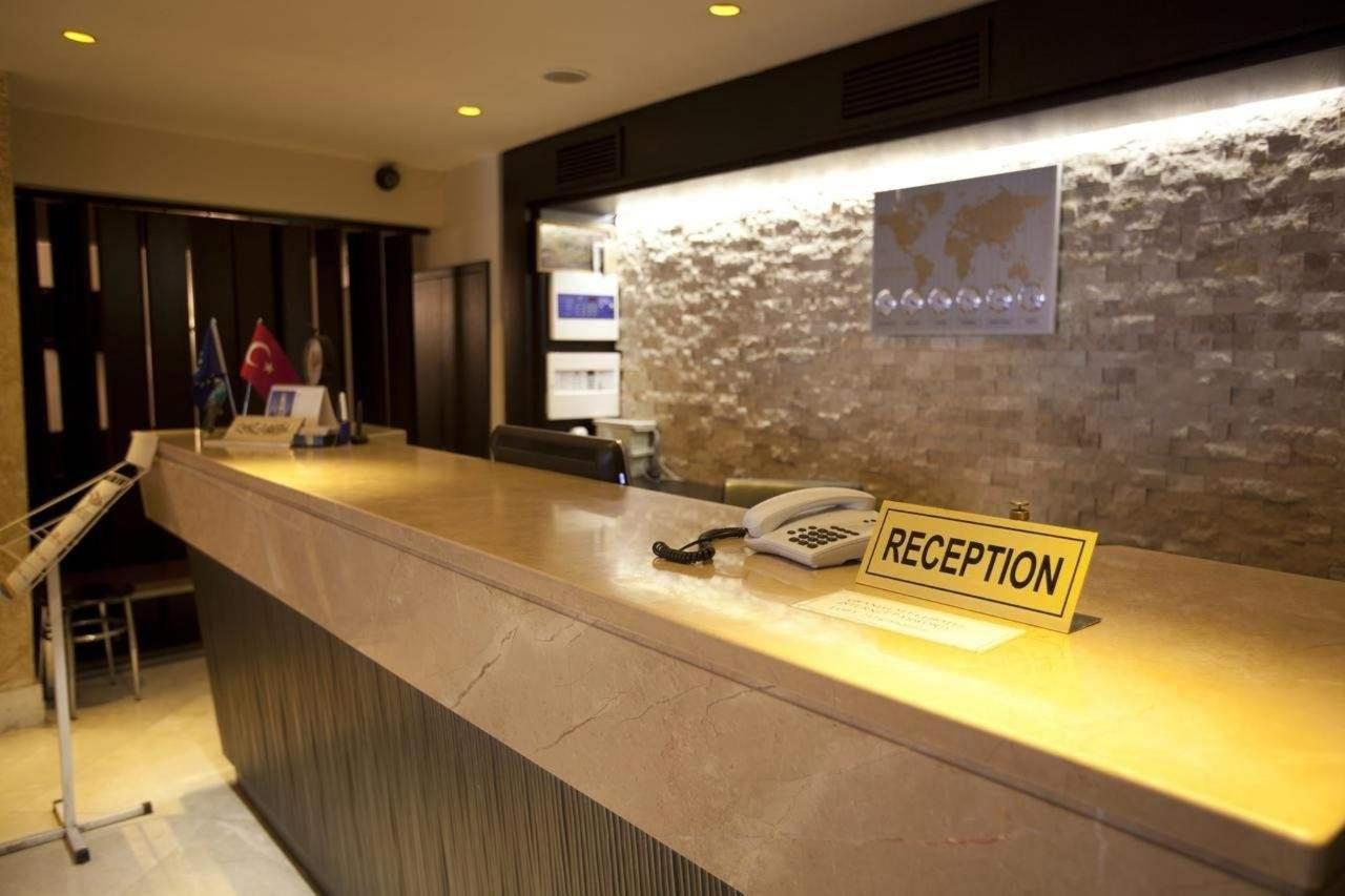 Putovanje Istanbul, evropski gradovi, hotel Grand Laleli,recepcija