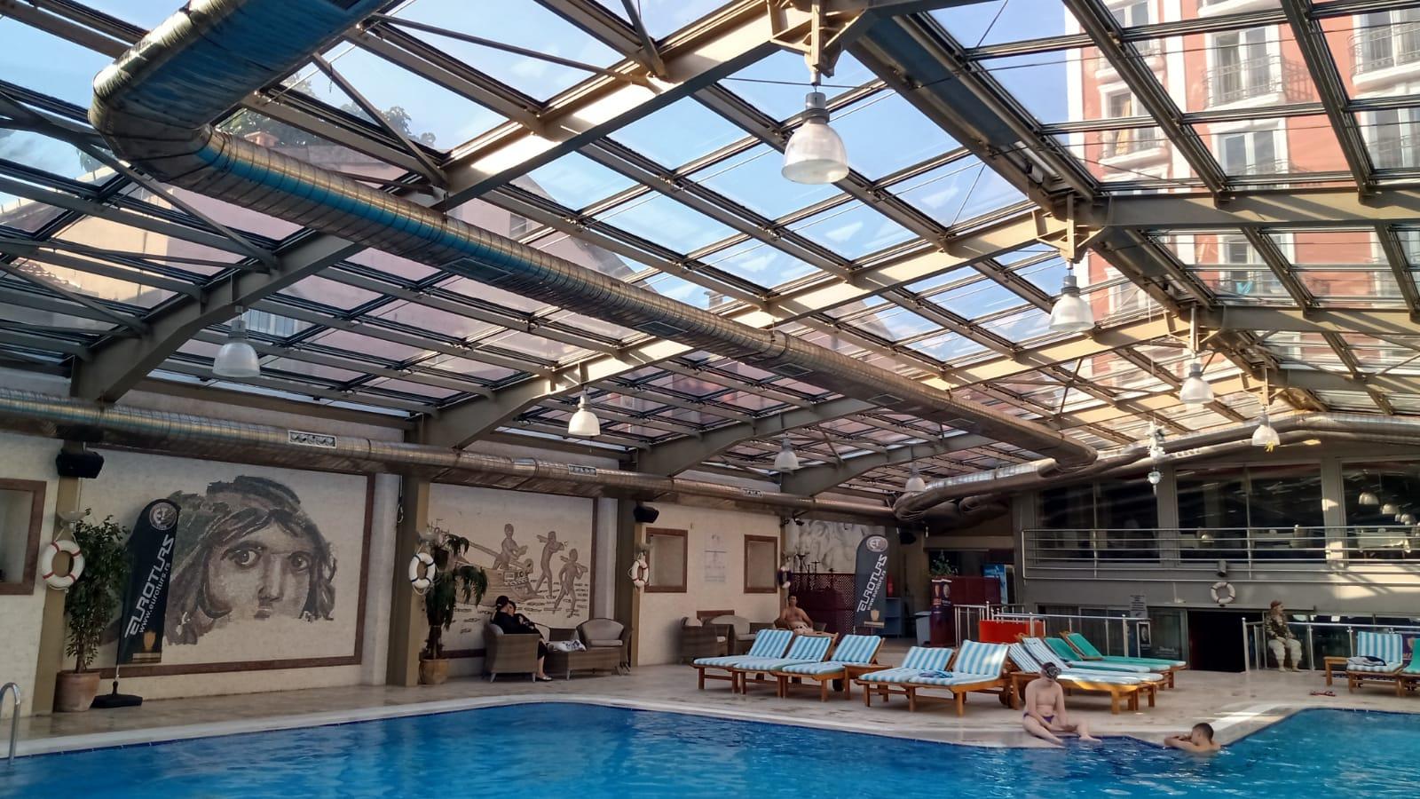 Letovanje Turska avionom, Kumburgaz, hotel Blue World, hotelski bazen