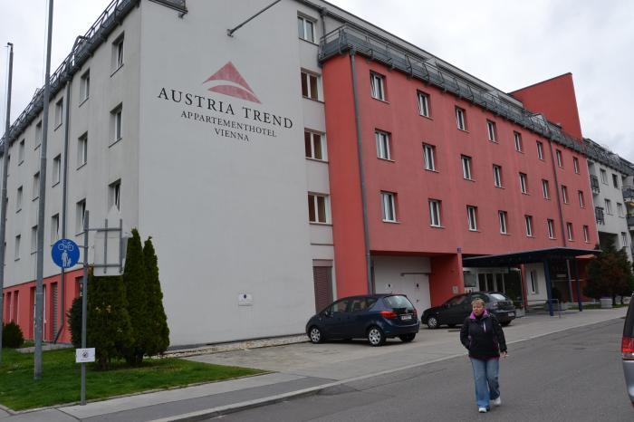 Putovanje Beč, evropski gradovi, hotel Arion city,eksterijer