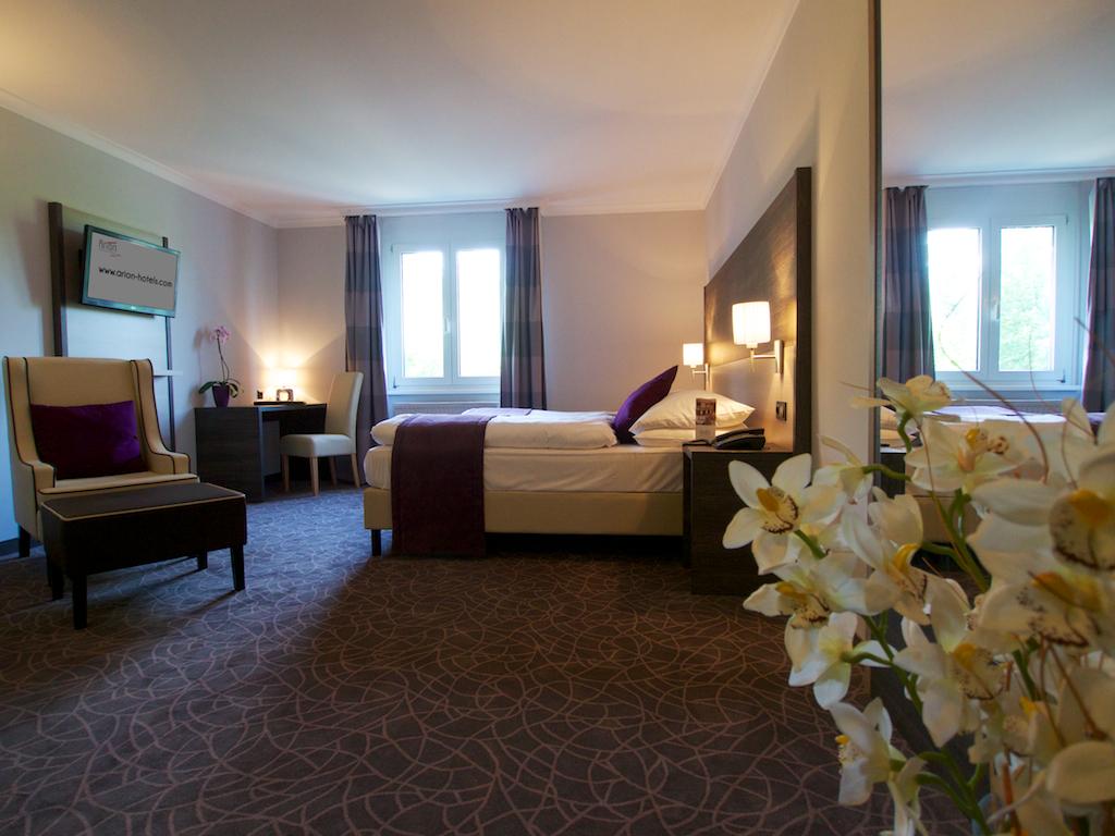 Putovanje Beč, evropski gradovi, hotel Arion city,deo sobe