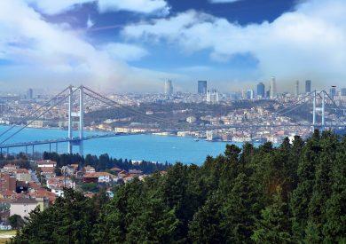 Mramorno more, Istanbl, Turska, Evropski gradovi