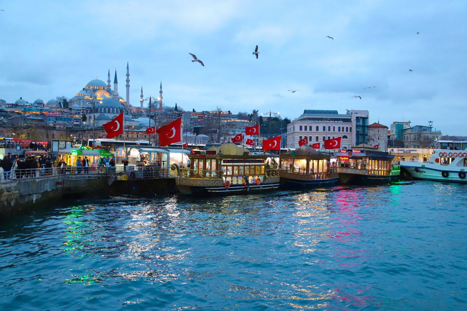 Istanbul, Evropski gradovi, Turska, Bosfor