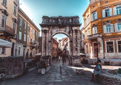 Pula, Evropski gradovi, Hrvatska