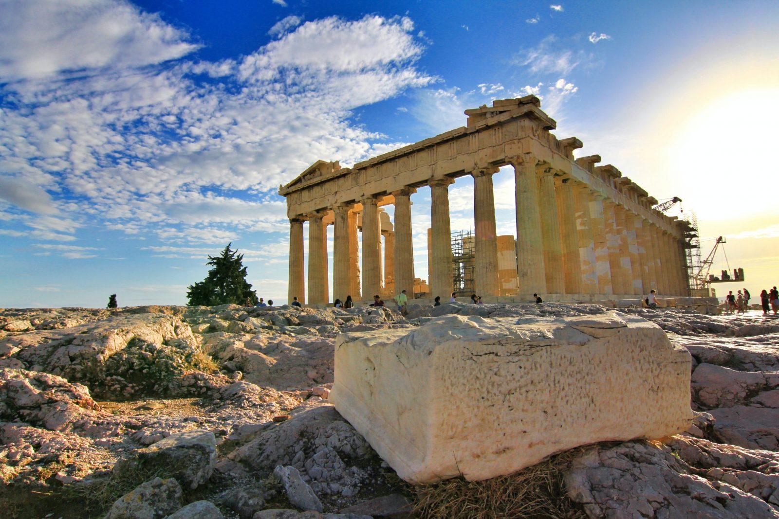 Grčka, evropski gradovi, putovanja, Solun, Atina